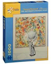 Puzzle Pomegranate de 1000 piese - Cunoscatorul, Normand Rockwell -1