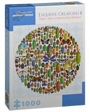 Puzzle patrat Pomegranate de 1000 piese - Creaturi rare, Chrisopher Marley -1