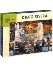 Puzzle Pomegranate de 1000 piese - Industria din Detroit, Diego Rivera -1