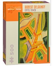 Puzzle Pomegranate de 500 piese - Turnul Eiffel, Robert Delaunay