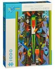 Puzzle Pomegranate de 1000 piese - Monte Verde, Charley Harper -1