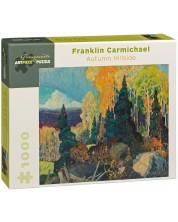 Puzzle Pomegranate de 1000 piese -Partii de toamna, Franklin Carmichael -1