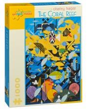 Puzzle Pomegranate de 1000 piese - Recif de corali, Charley Harper -1