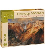 Puzzle Pomegranate de 1000 piese - Yellowstone, Thomas Moran -1