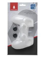 Husa silicon pentru controller Spartan Gear - alba