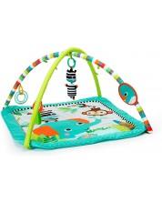 Salteluta pentru gimnastica bebelusului Bright Starts - Roaming Safari -1