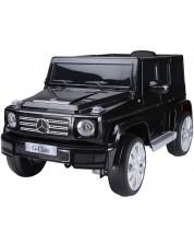 Jeep cu acumulator Ocie 12V Mercedes - Benz G 500 - Negru, cu telecomanda -1