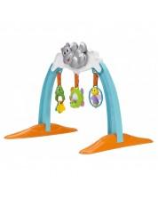 Salteluta pentru gimnastica bebelusului Chicco - Hipopotam -1