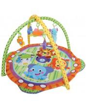 Salteluta pentru gimnastica bebelusului Lorelli - Safari -1