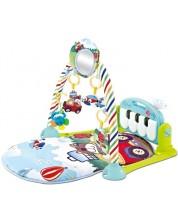 Kikkaboo Salteluta pentru gimnastica bebelusului Piano Mint -1