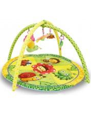 Salteluta pentru gimnastica bebelusului Lorelli - Gradina colorata -1