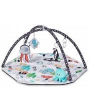 Salteluta de joaca si gimnastica pentru bebelusi KinderKraft Sea Land -1