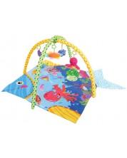 Salteluta pentru gimnastica bebelusului Lorelli - Ocean -1
