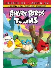 Angry Birds Toons: Serial animatie, sezonul 1 - disc 2 (DVD)