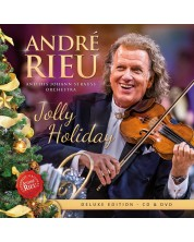 André Rieu, Johann Strauss Orchestra - Jolly Holiday , Deluxe (CD+DVD)