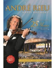 Andre Rieu - Happy BIRTHDAY! A Celebration of 25 Years of the Johann Strauss Orchestra (DVD)