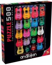 Puzzle Anatolian de 500 piese -Colored of Music