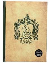 Agenda SD Toys Harry Potter - Slytherin, luminoasa