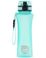 Sticla pentru apa Ars Una - Turcoaz mat, 500 ml