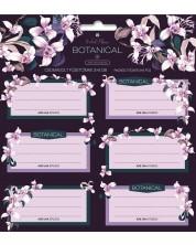 Etichete scolare Ars Una Botanic Orchid - 18 bucati -1
