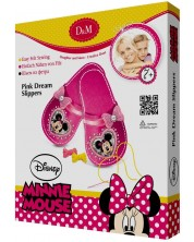 Set creativ Revontuli Toys Oy - Coase singur, papuci cu Minnie Mouse