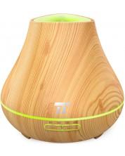 Difuzor aroma Taotronics - AD004, lemn deschis, 400 ml -1