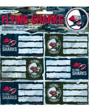 Etichete scolare Ars Una Flying Sharks - 18 bucati -1