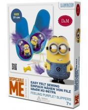 Set creativ Revontuli Toys Oy - Coase singur, papuci cu Minions