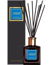 Odorizant cu betisoare Aroma Home Premium - Blue Crystal, 150 ml -1