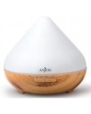 Difuzor aroma Anjou - AD001, lemn deschis, 300 ml -1