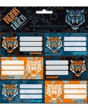 Etichete scolare Ars Una Roar of the Tiger - 18 bucati -1