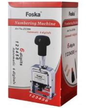 Inseriator automat Foska - Cu 6 cifre -1