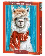 Puzzle Castorland de 500 piese - Eu sunt Lama