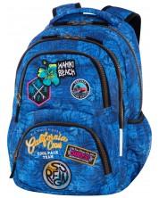 Ghiozdan scolar Cool Pack Dart - Badges G Blue