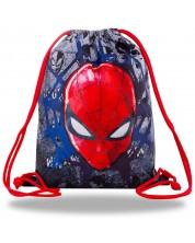 Rucsac sport cu siret Cool Pack Beta - Spiderman Black