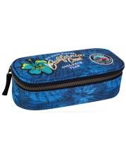 Penar scolar elipsoidal Cool Pack Campus - Badges G Blue