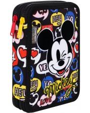 Penar cu rechizite scolare Cool Pack Jumper XL - Mickey Mouse
