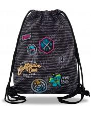 Rucsac sport cu siret ool Pack Sprint Badges G - Gri