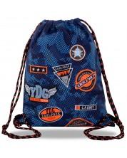 Rucsac sport cu siet Cool Pack Sprint Badges B - Albastru inchis