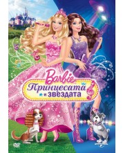 (Barbie: The Princess and The Popstar (DVD)