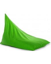 Fotoliu puf piramida Barbaron - Alcala, verde -1