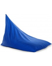 Fotoliu puf piramida Barbaron - Alcala, albastru -1