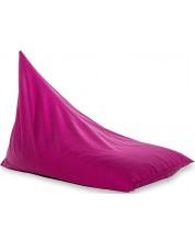 Fotoliu puf piramida Barbaron - Alcala, roz -1