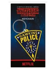 Breloc Pyramid Stranger Things - Hawkins Police