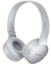 Casti wireless cu microfon Panasonic - HF420B, albe