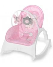 Sezlong pentru bebelusi  Lorelli - Enjoy, Pink Hug -1