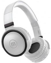 Casti wireless cu microfon Maxell - BTB52, albe