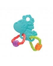 Playgro Inel dentitie Calutul Hop Trop - albastru -1