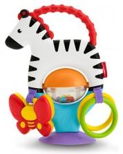 Jucarie pentru bebelusi Fisher Price - Zebra -1