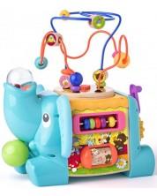 Cub interactiv-educativ pentru bebelusi Niny - Elefant -1